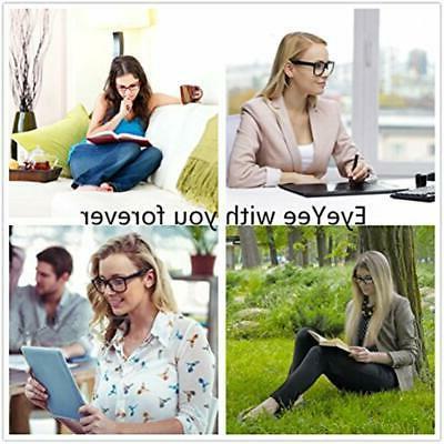 Reading Glasses Tortoise Eyeglasses Women, Light Weight