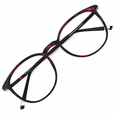 reading glasses 0 25 violet tortoise round
