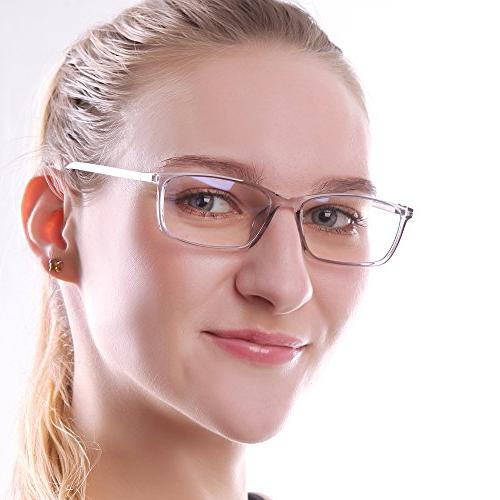 Reading Glasses 0.75 Light Screen Digital Glare Strain Lens for Women