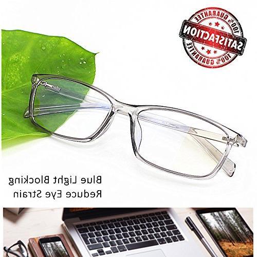 Reading Light Screen Digital Eyeglasses Anti Glare Strain Lens for