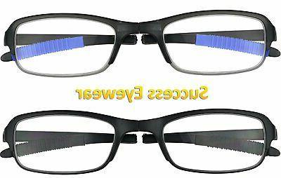 Reading Glasses 2 Fashion Cases Unisex Glasses for...