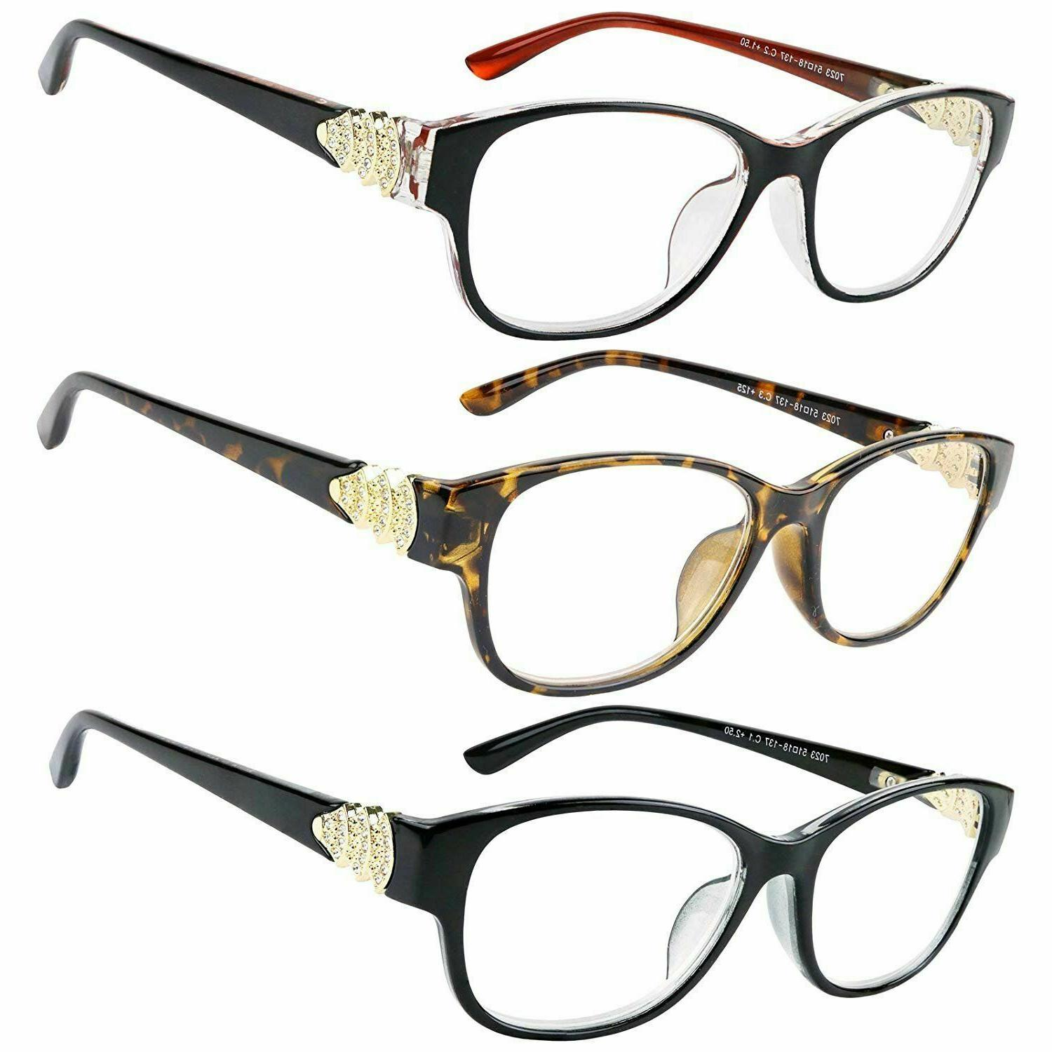 reading glasses 3 pack great value quality