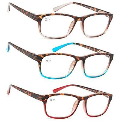 reading glasses 3 pair great value stylish