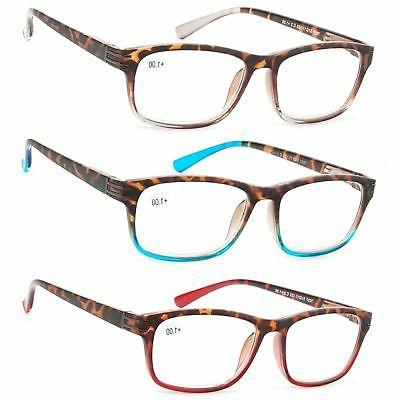 reading glasses 3 pair great value stylish