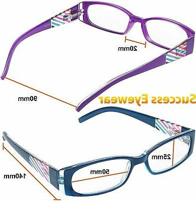 READING GLASSES 4 Quality Womens Glasses for Reading
