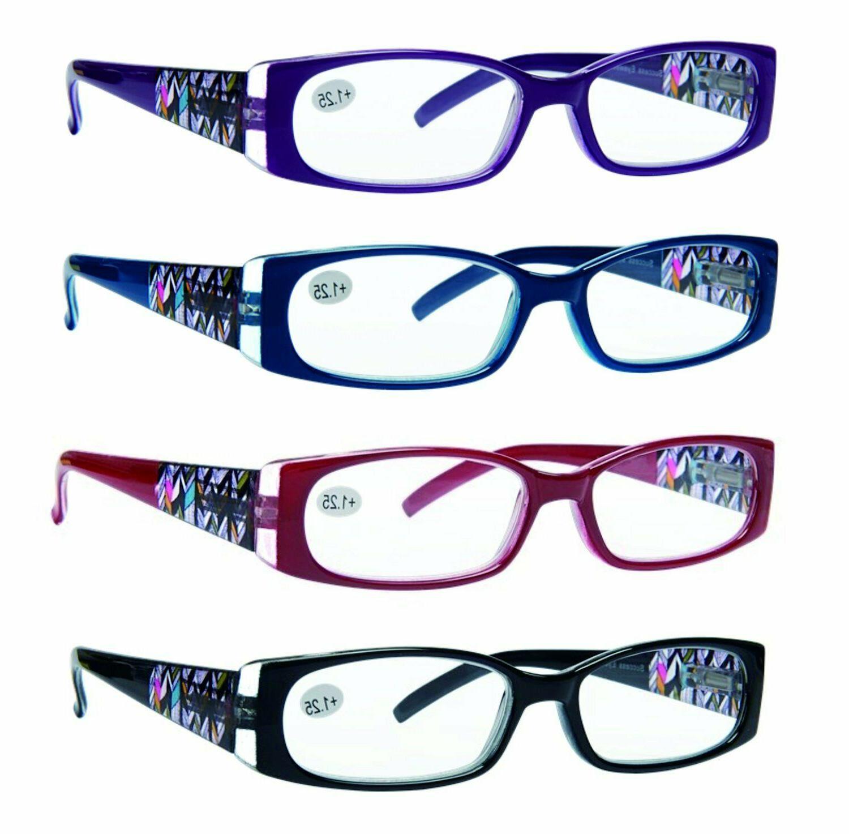 reading glasses 4 pack quality stylish designed