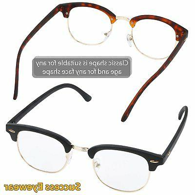 READING Set of 2 Fashion Clubmaster Readers Quality