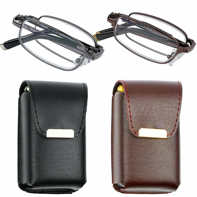 reading glasses set of 2 fashion folding