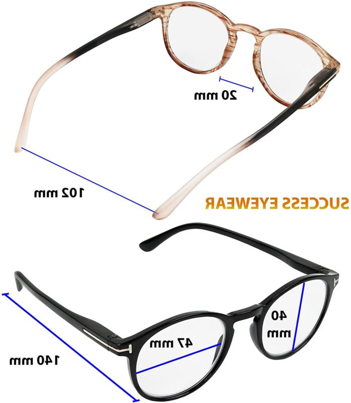 Reading Glasses Set 3 Great Fashion Readers Glasse