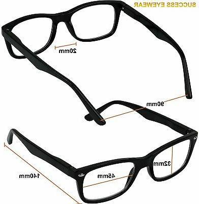 Reading Set 4 Spring Hinge Glasses Reading