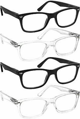 Reading Glasses 4 Quality Readers Spring Hinge Reading