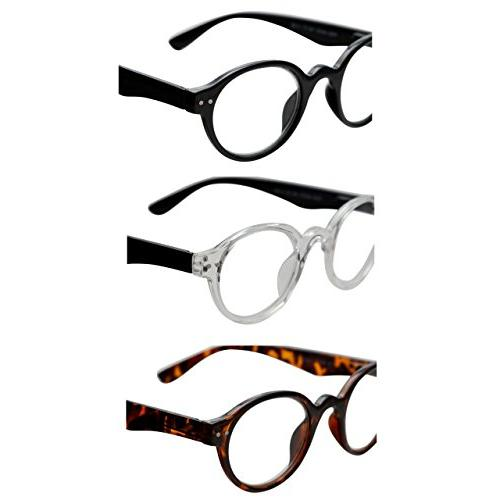 Reading Spring Hinge Readers for Fashion Glasses for +2.5