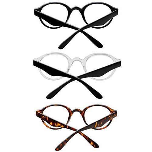 Reading Glasses Spring for and Fashion Glasses for Reading +2.5