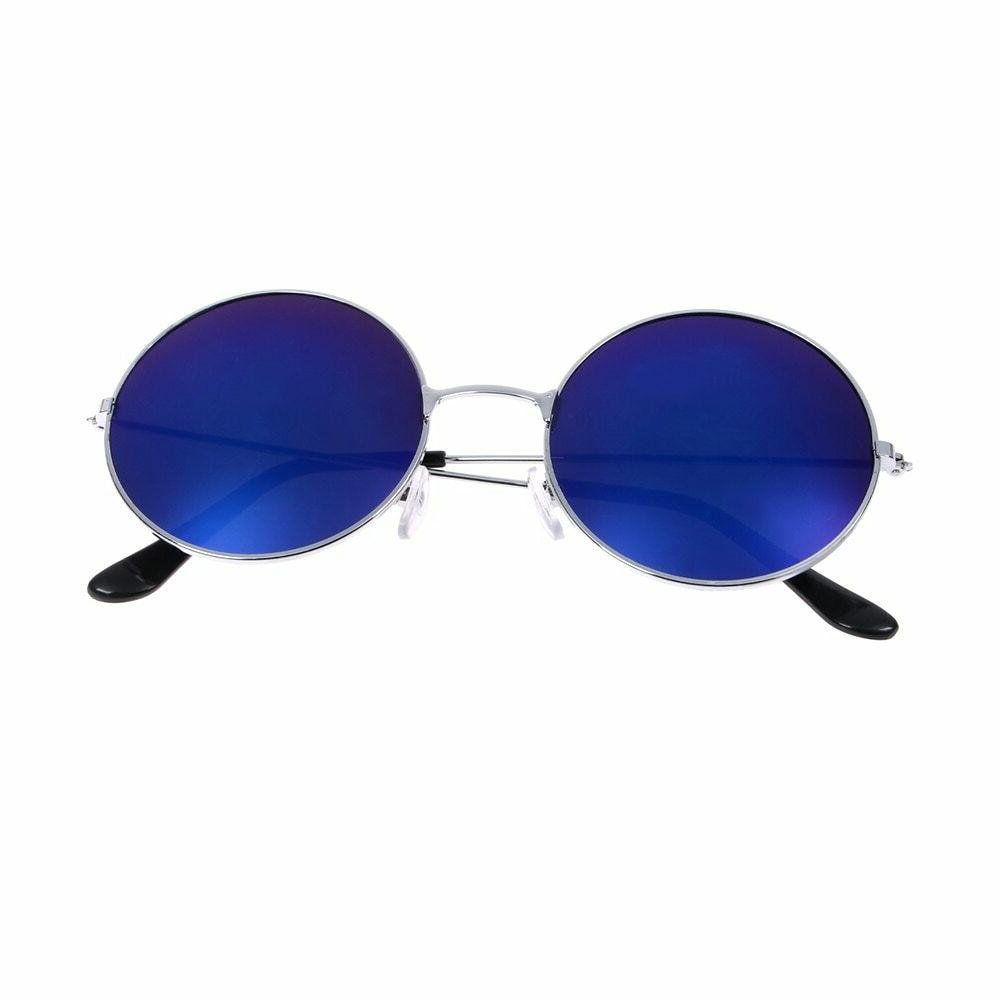 Retro Round Colorful Glasses Eyewear For Women