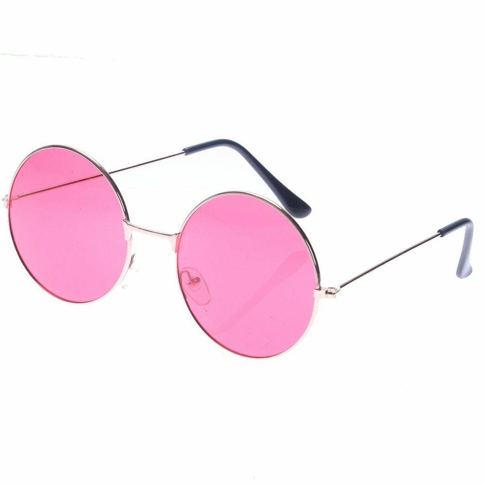 Retro and Colorful Glasses Women ,