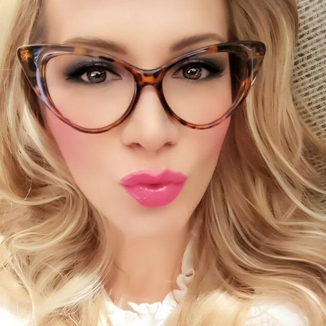 Retro Sexy Women Frame Clear Glasses