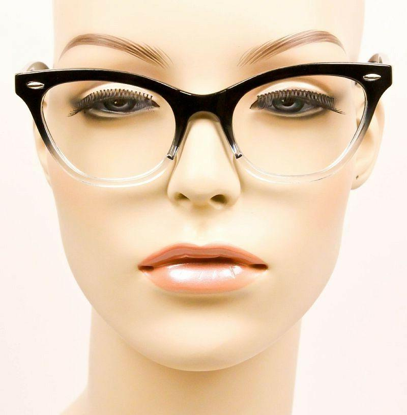 Retro OMBRE Gradient CAT Clear Lens Women WaYfe Eyeglasses Frames 1404