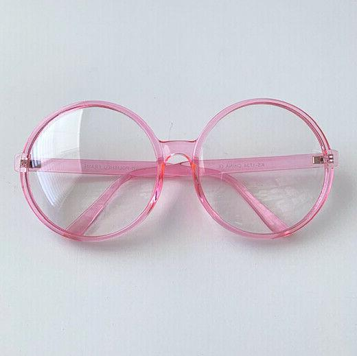 Oversized Huge Round Large Hipster Women Eyeglasses
