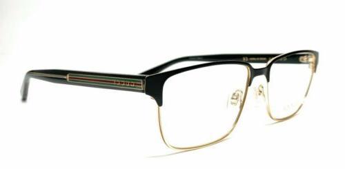round men eyeglasses gg0383o 004 58 black