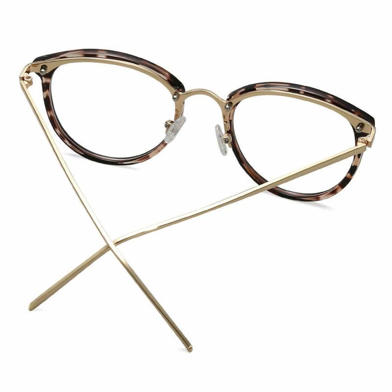Amomoma Round Clear Lens Eyewear Frame A5001