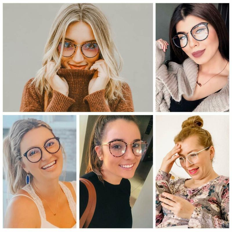 Amomoma Clear Lens Glasses Frame