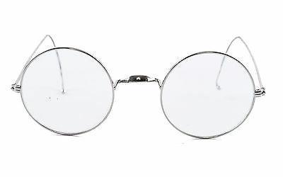 Agstum Round Optical Wire Rim Frame 49mm