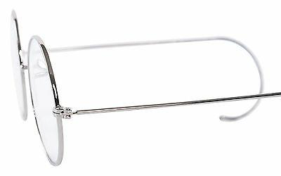 Agstum Round Optical Rare Wire Rim Mens Frame Without 49mm