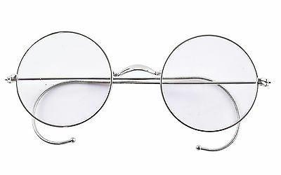 round optical rare wire rim mens eyeglasses