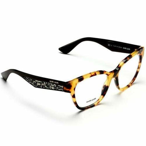 rx square eyeglasses women s mu06ova 7s01o1