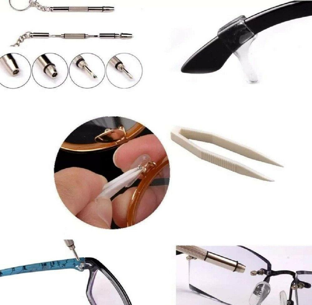 Screw Nose Pad Optical Kit Set For Sun Glasses