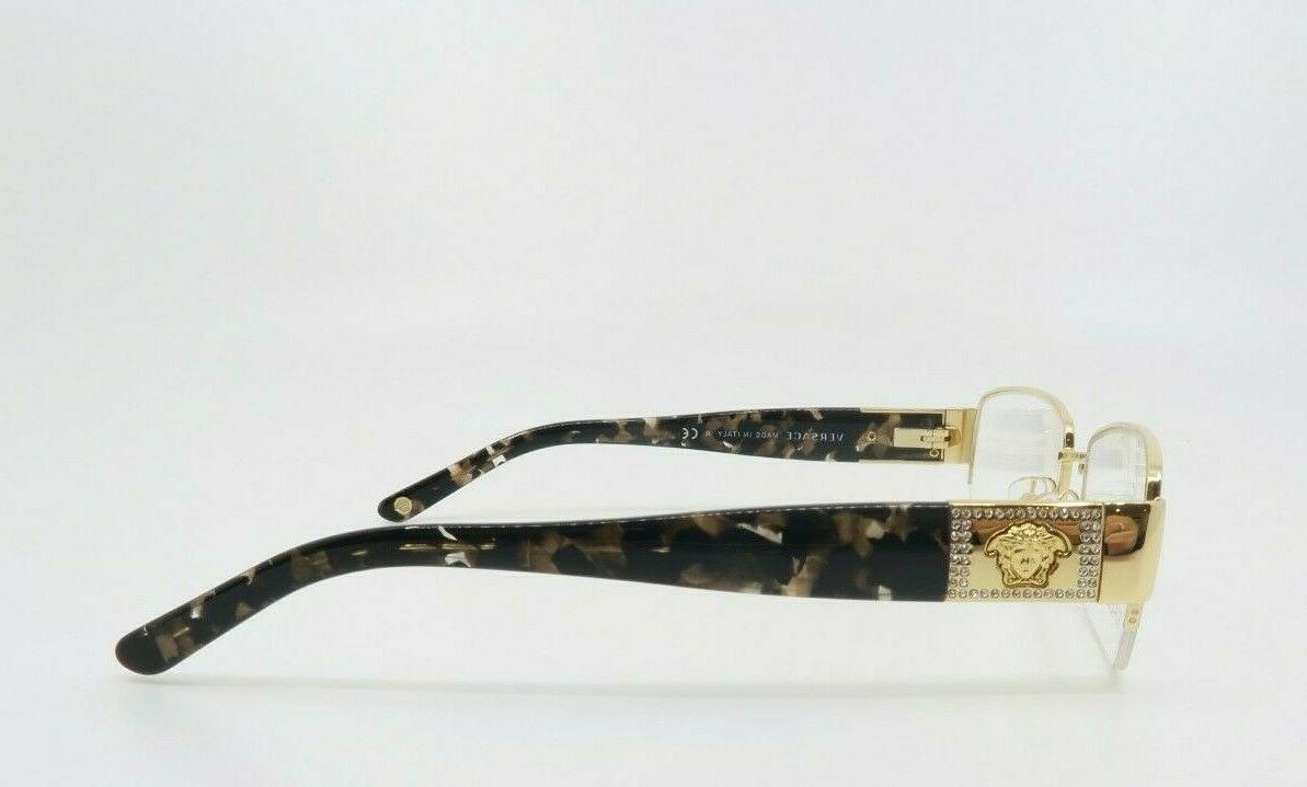 Versace Havana Semi-Rimless Unisex MOD 1175B Box