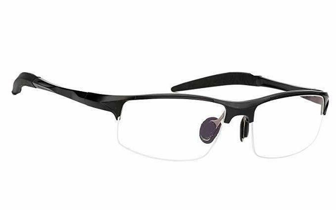 sports optical eyeglasses frame plain glasses clear