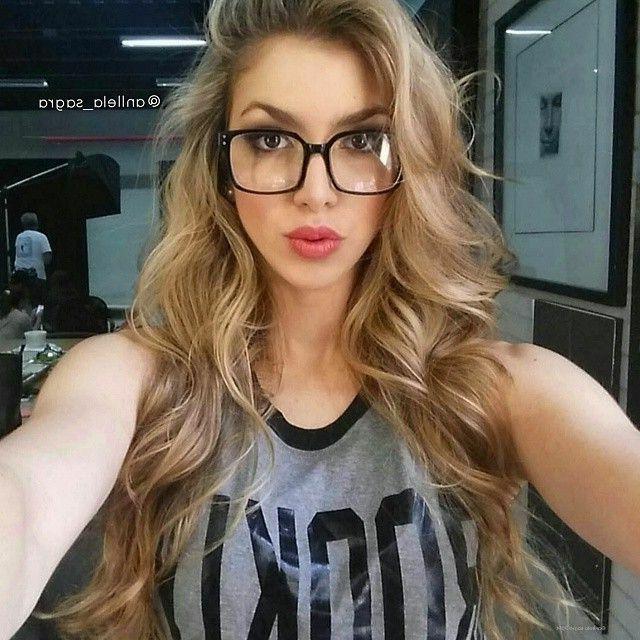 Square Clear Lens Eyeglasses Women Men Sexy KIM Clear  Glass