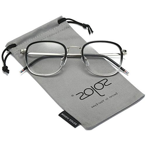 square clear lens eyewear prescription eyeglasses frames