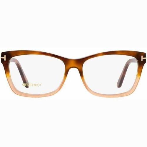 square eyeglasses women s ft5424 056 53