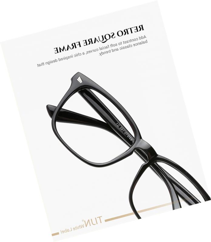 Stylish Square Non-Prescription Eyeglasses Glasses Men