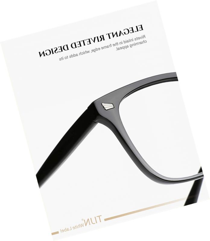 Stylish Glasses Lens Women Men