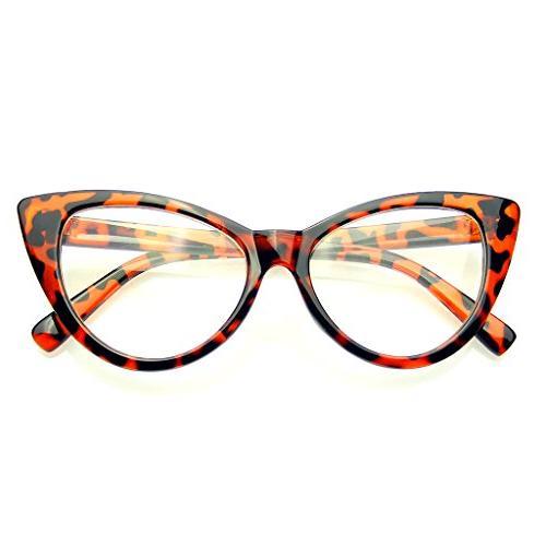 super cat eye glasses vintage fashion mod