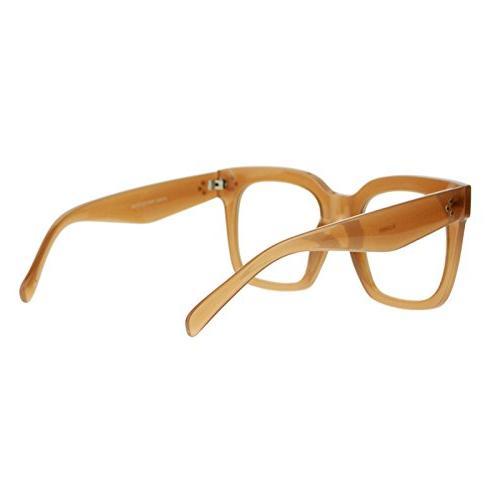 Super Oversized Glasses Fashion Eyeglasses