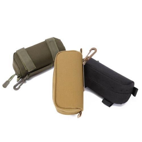 Tactical Molle Portable Sunglasses Case Eyeglasses Bag Outdo