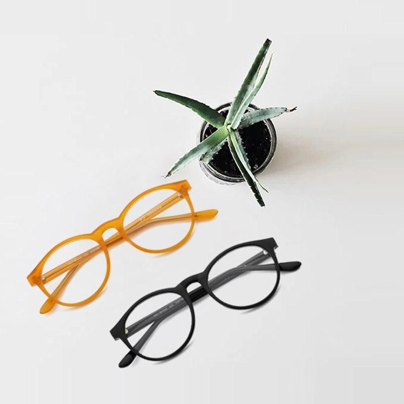 TANGOWO TR90 Round Frame Vintage Prescription <font><b>Eyeglasses</b></font> Optical Eyewear