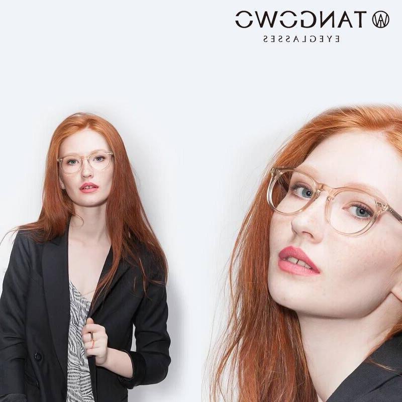 tr90 round glasses frame women font b