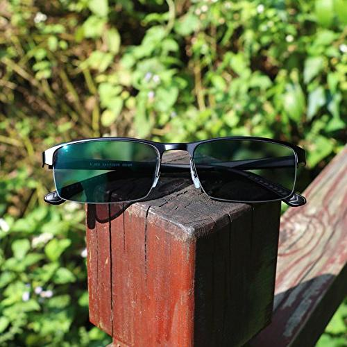 WEARKAPER Sunglasses Photochromic Myopia Glasses