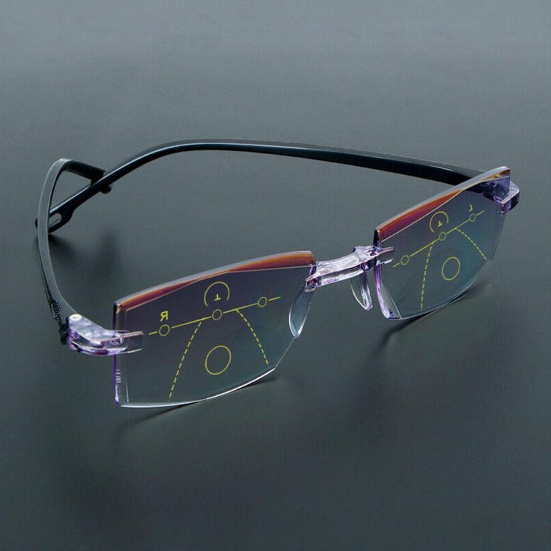 Reading Glasses Diamond-cut Progressive Multifocal Presbyopi