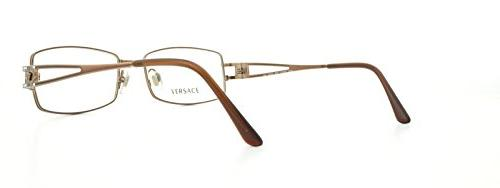 Versace Eyeglasses-1045 Light Brown-53mm