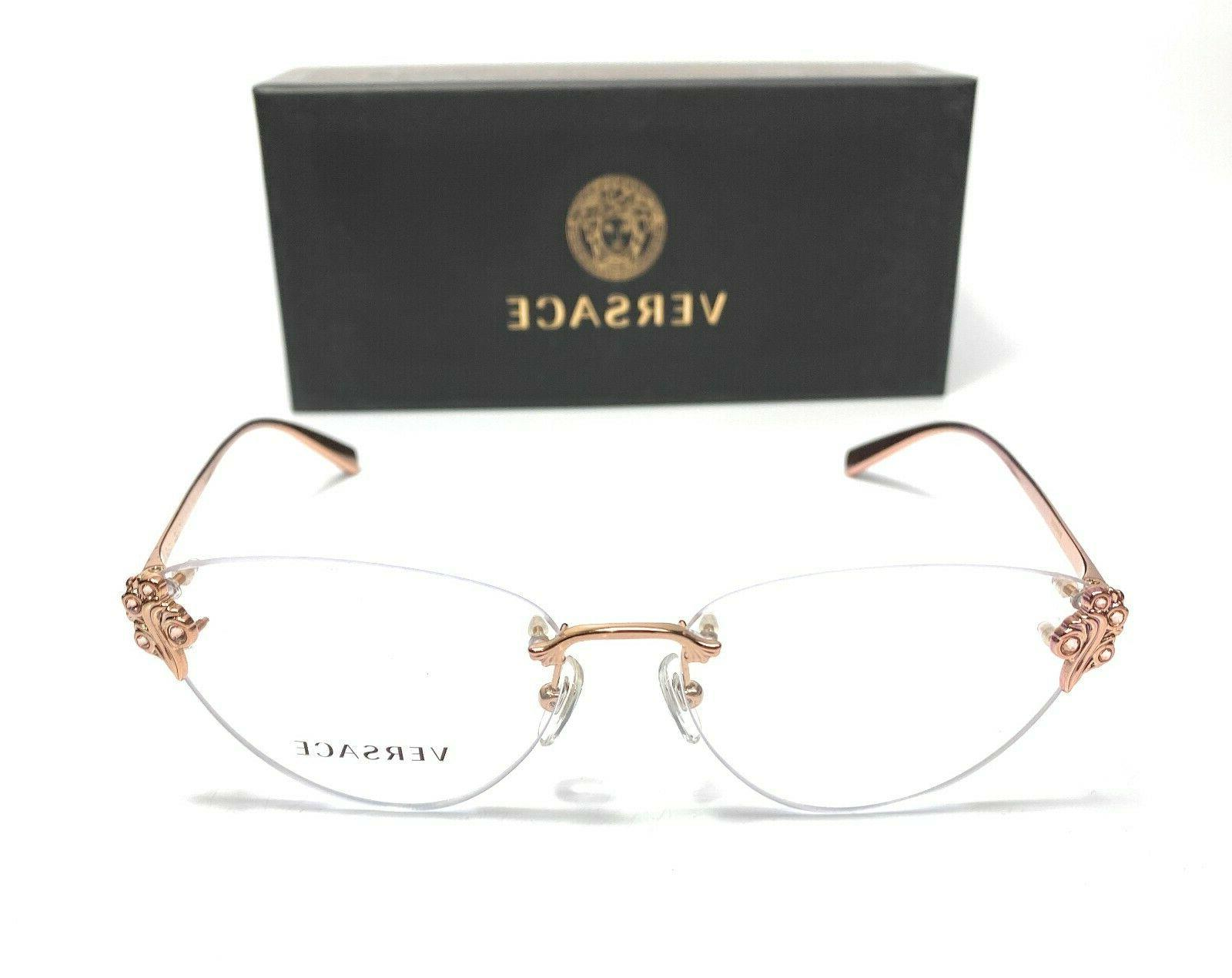 Versace VE1254B Gold Women's Authentic Frame 54-15