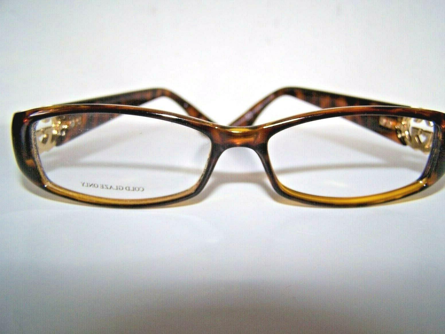 Vintage Eyeglass NEW Metal Logos RX