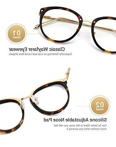 Optical Non-prescription Eyeglasses Frame for Women