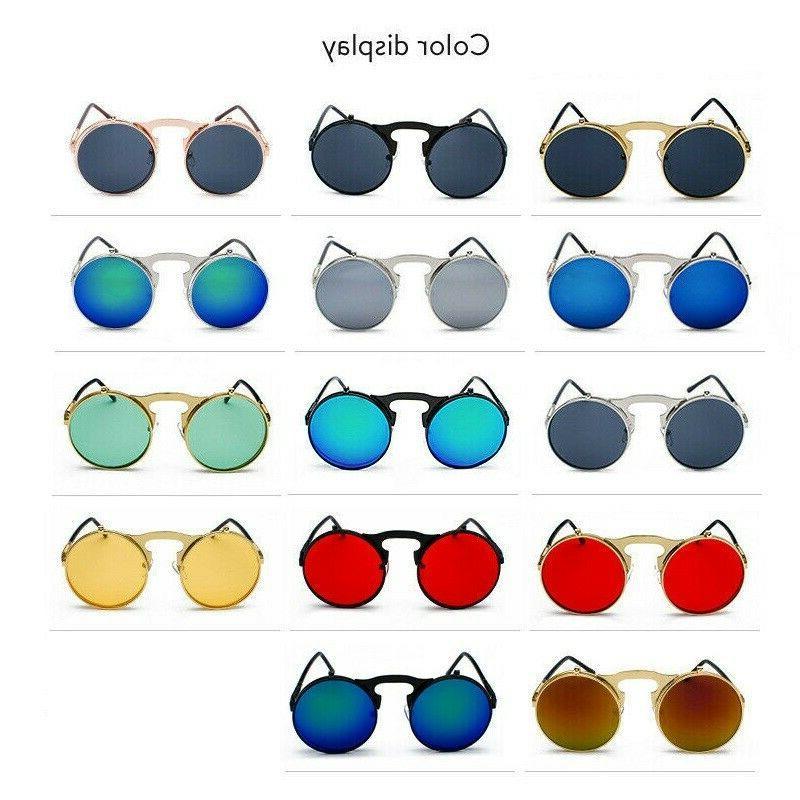 Vintage Steampunk Round Eye Glasses