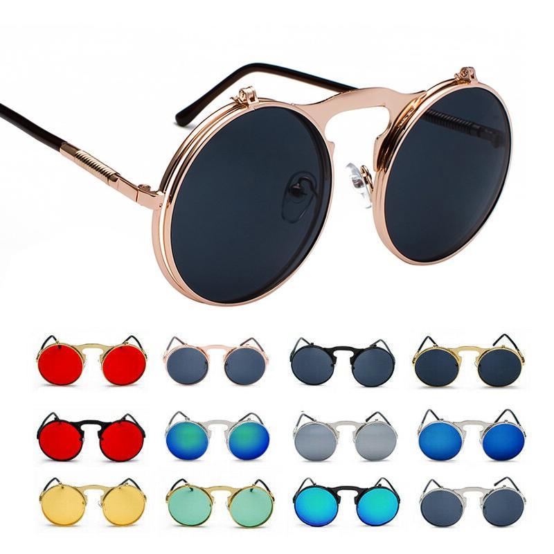 vintage retro flip up sunglasses men women